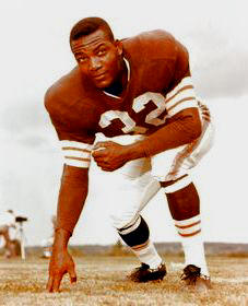 jim brown one hand down