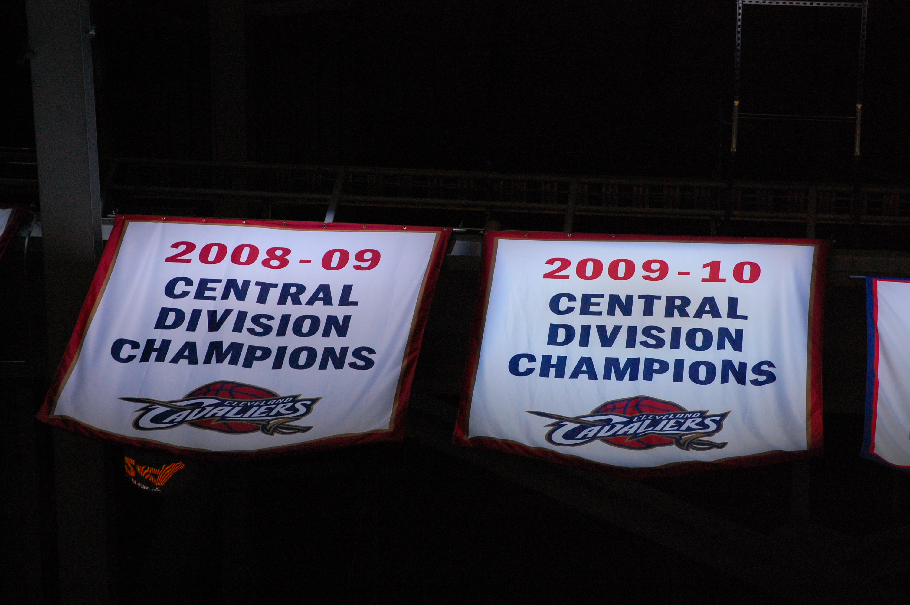 Cavaliers banners
